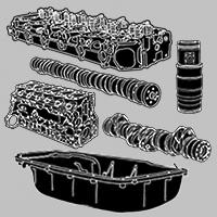 Părți componente motor