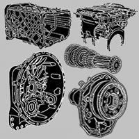 Părți componente cutie de viteze